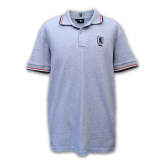 Casual-Polo-1908-Ash-Rood-Wit-Zwart