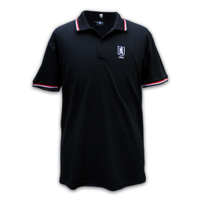Casual-Polo-1908-Zwart_Rood_Wit
