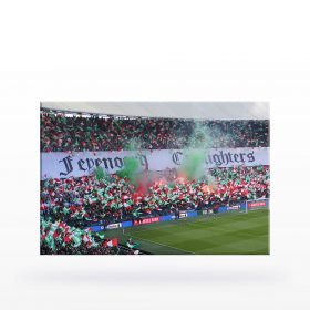 Canvas Feyenoord Cupfighters (90 x 60)