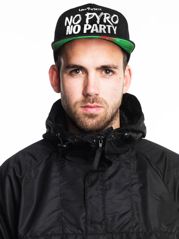 No Pyro No Party Snapback, Extreme Limited Edition