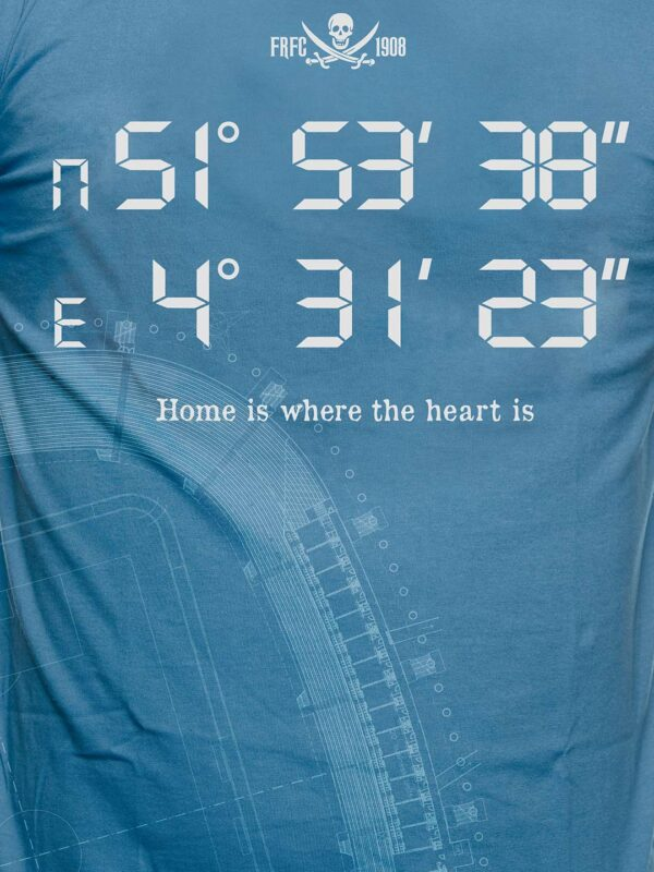 Home is Where the Heart is , De Kuip - T-Shirt