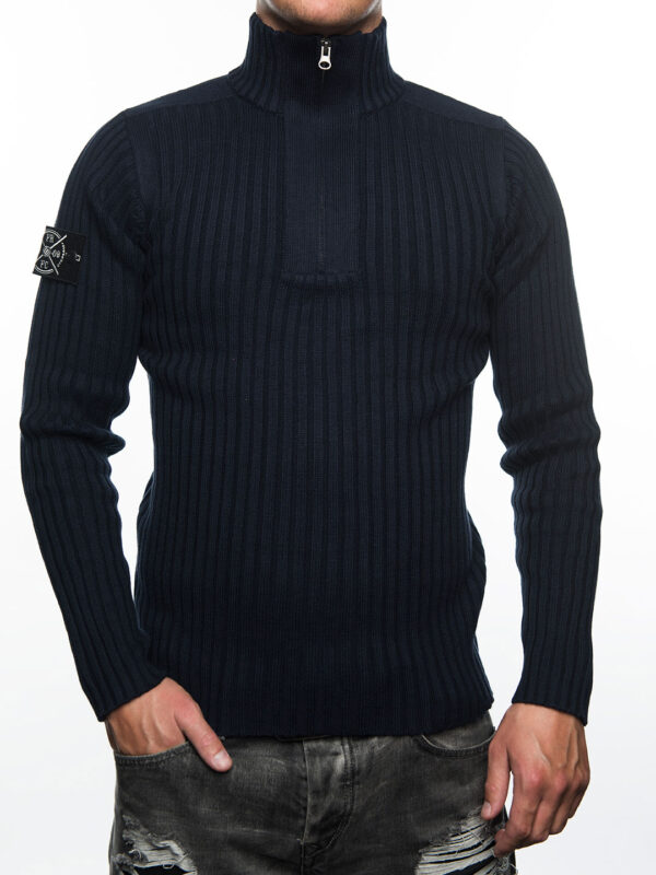 Jumper Navy met Stone Island - FRFC1908 Patch