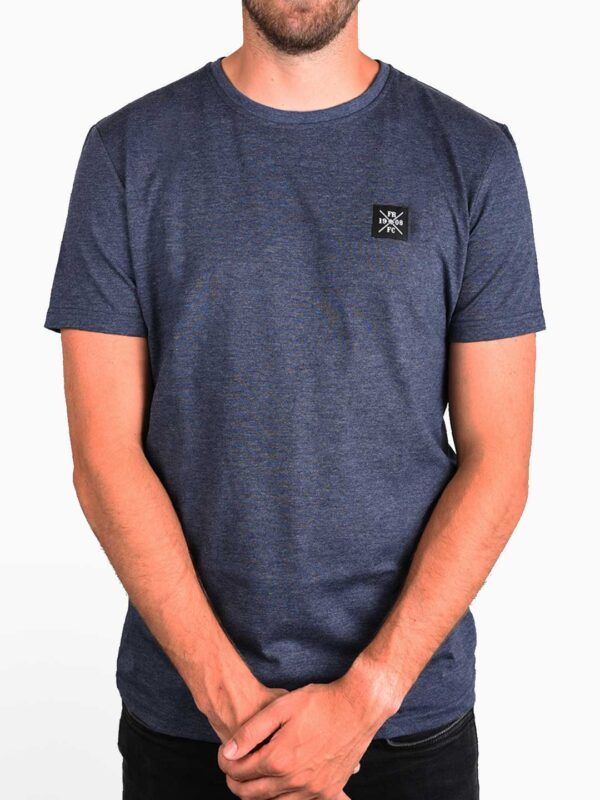 Kruislogo Casual T-Shirt, Navy