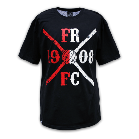 FRFC1908 X-Line Shirt, Rood/wit