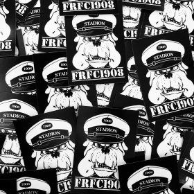 FRFC1908 Bulldog Suppoost Stickers