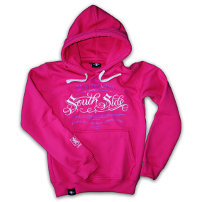 Hooded Sweater SouthSide Pink, FRFC1908 Rotterdam Zuid SouthSide Casuals