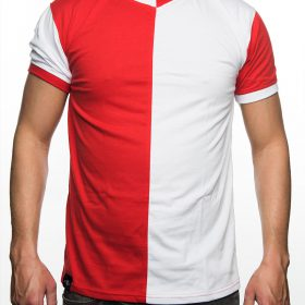 T-Shirt Replica 1970, Rood & Wit