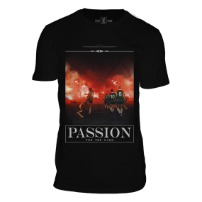 Feyenoord, Passion for the Game T-Shirt, Zwart