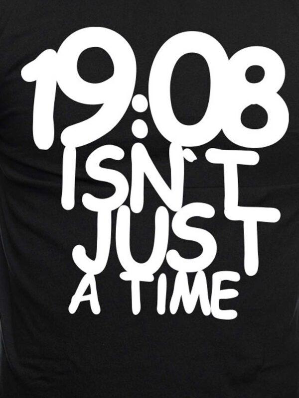 19:08 isn't just a time, T-shirt detailprint