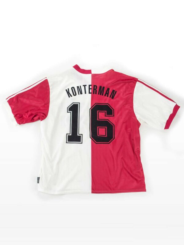 1999 - 2000 Adidas Feyenoord Thuisshirt - Nr. 16 Konterman