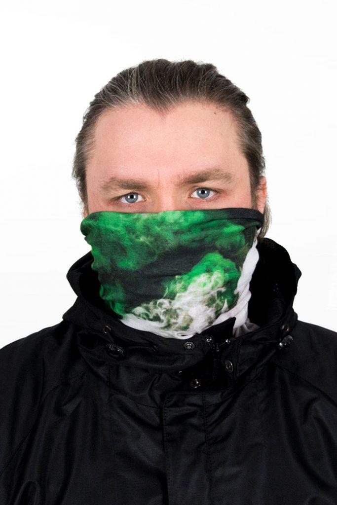 FRFC Bivak Nekwarmer - Groene Rook