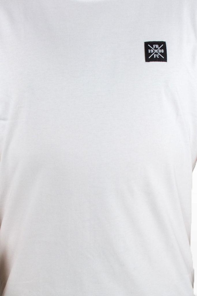 Casual Kruislogo T-Shirt Wit