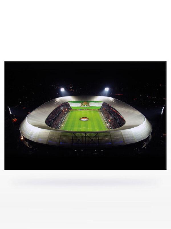 Feyenoord Canvas - Bekerklassieker Dronefoto (120 x 80)
