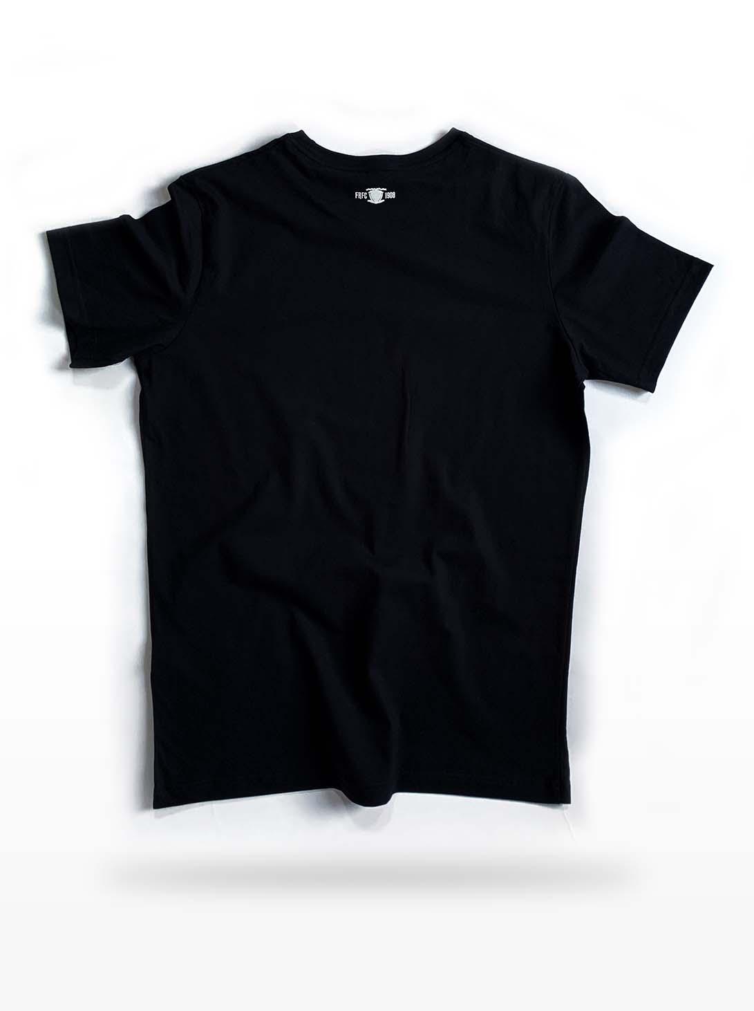 FRFC1908- Tshirt (Zwart) Achterkant