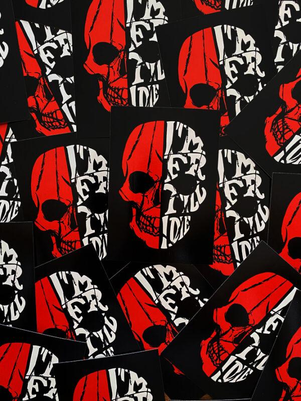 Feyenoord Till I Die Stickers