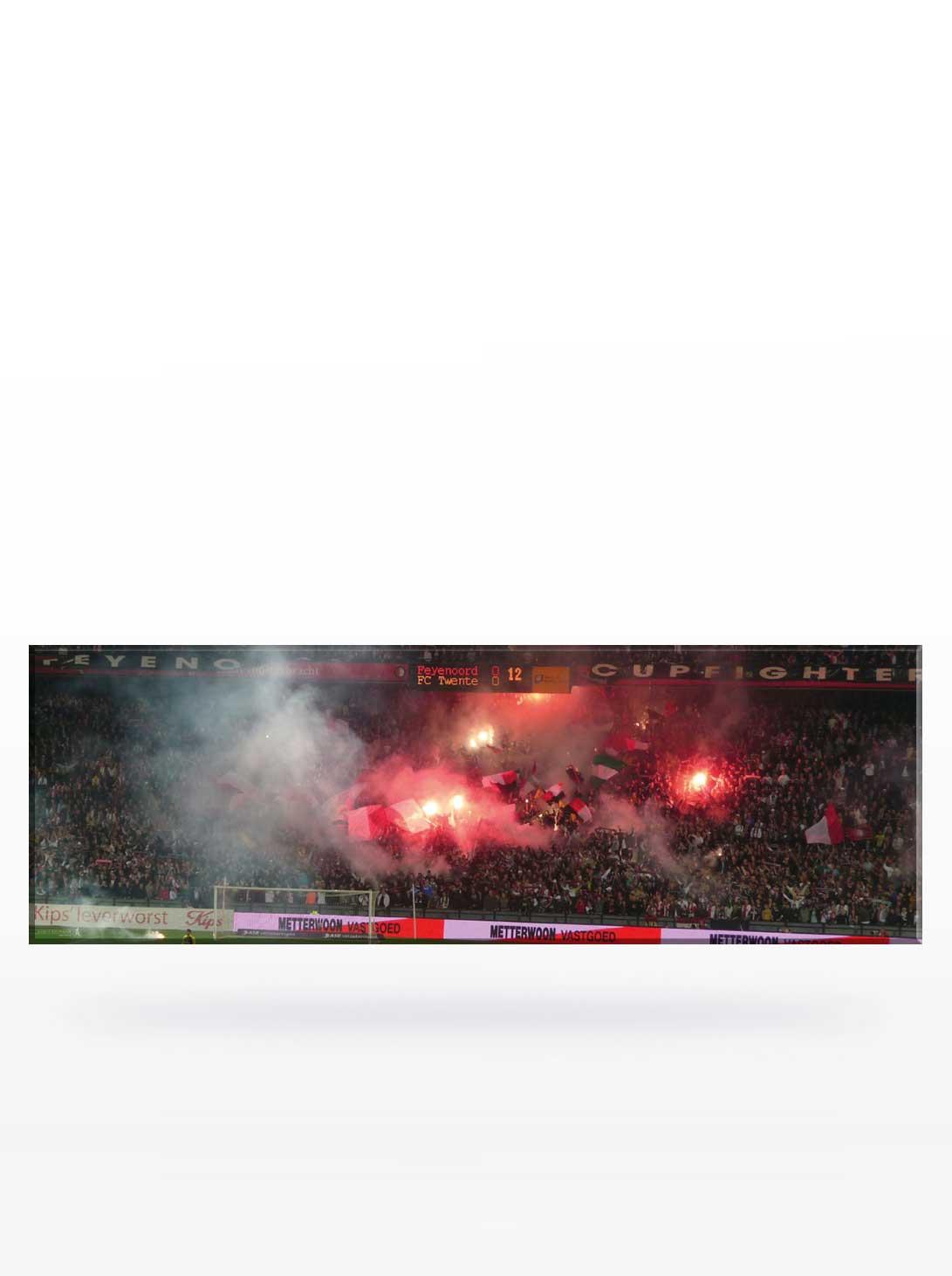 Canvas 12e minuut Feyenoord - Twente