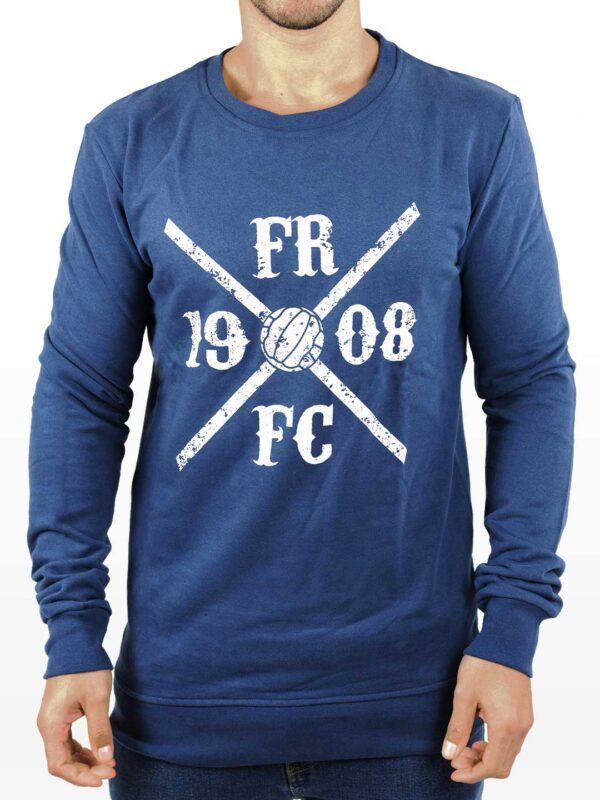 Kruislogo Crewneck Sweater - Navy