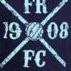 FRFC Kruislogo T-Shirt Navy