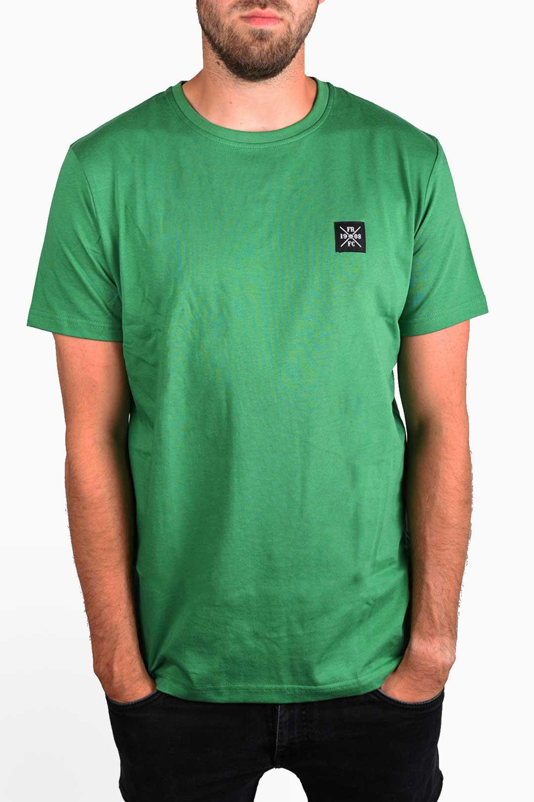 Kruislogo Casual T-Shirt, Groen