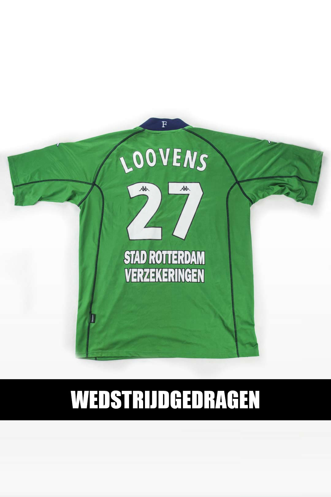 MATCHWORN Feyenoord Uitshirt - 2002 - 2003, Glenn Loovens