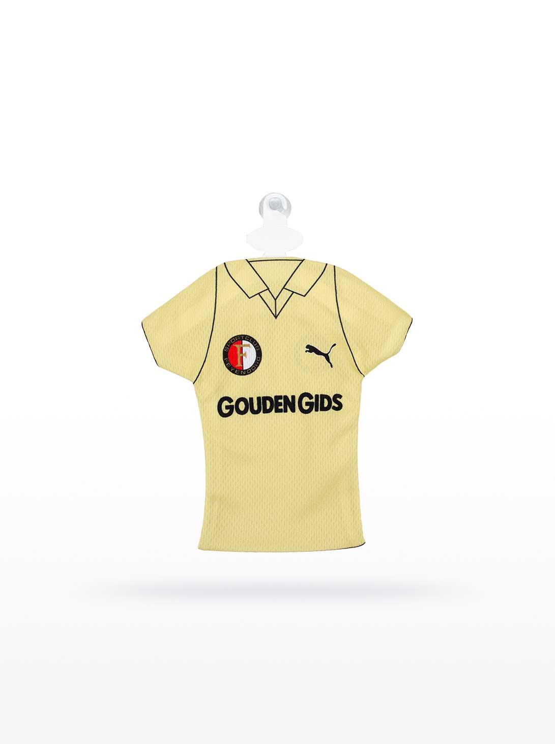Feyenoord Minidress 1983-1984, Uitshirt Gouden Gids