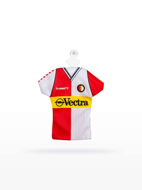Feyenoord Retro Minidress - 1988 - 1989, Vectra Thuisshirt