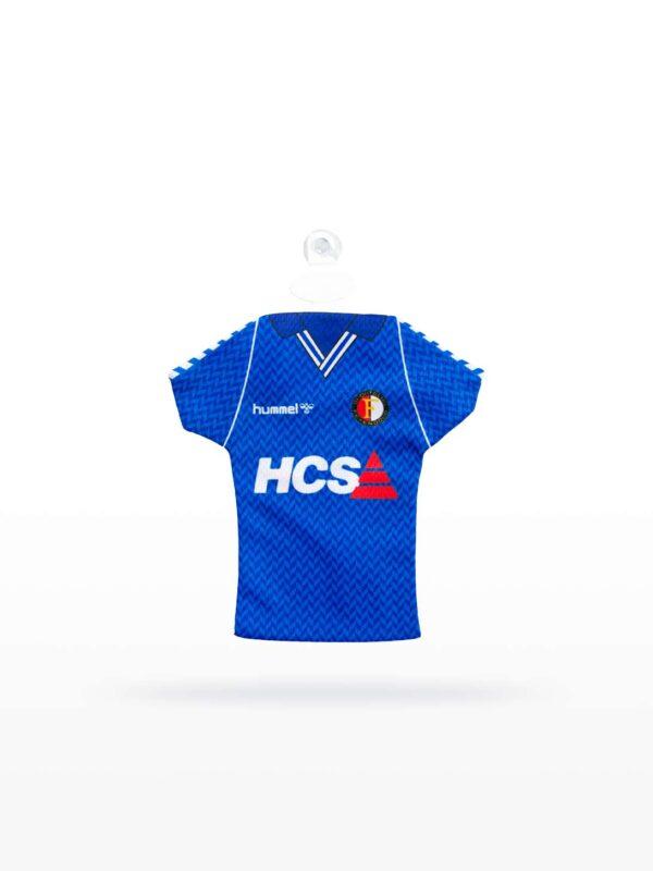 Feyenoord Retro Minidress - 1989 - 1990, Uitshirt, Blauwe HCS