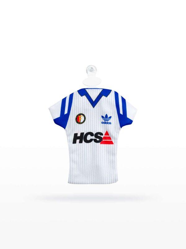 Feyenoord Minidress 1990-1991 - Uitshirt HCS Wit, Ommekeershirt