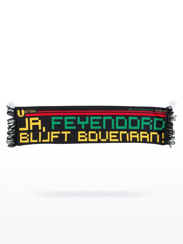 Minisjaal - Ja, Feyenoord bijft bovenaan!