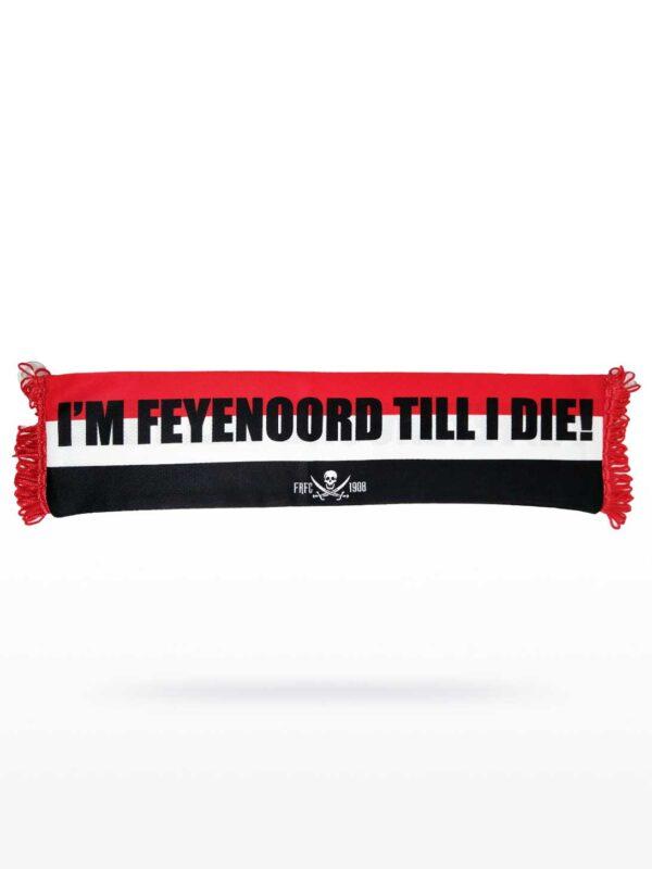 Feyenoord Till I Die Minisjaal voor in de auto