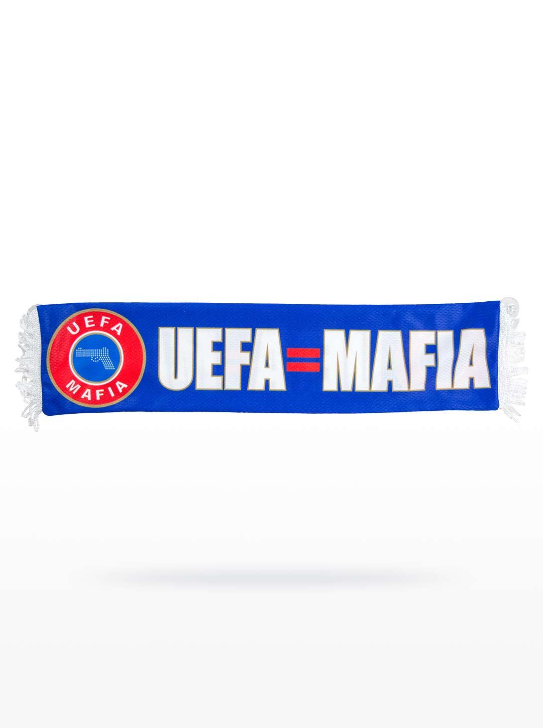 UEFA=MAFIA Minisjaal voor in de auto
