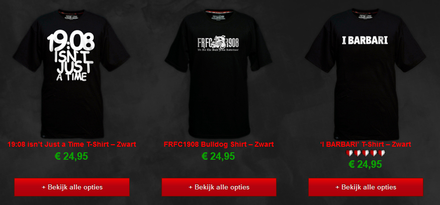 Nieuwe Feyenoord T-Shirts