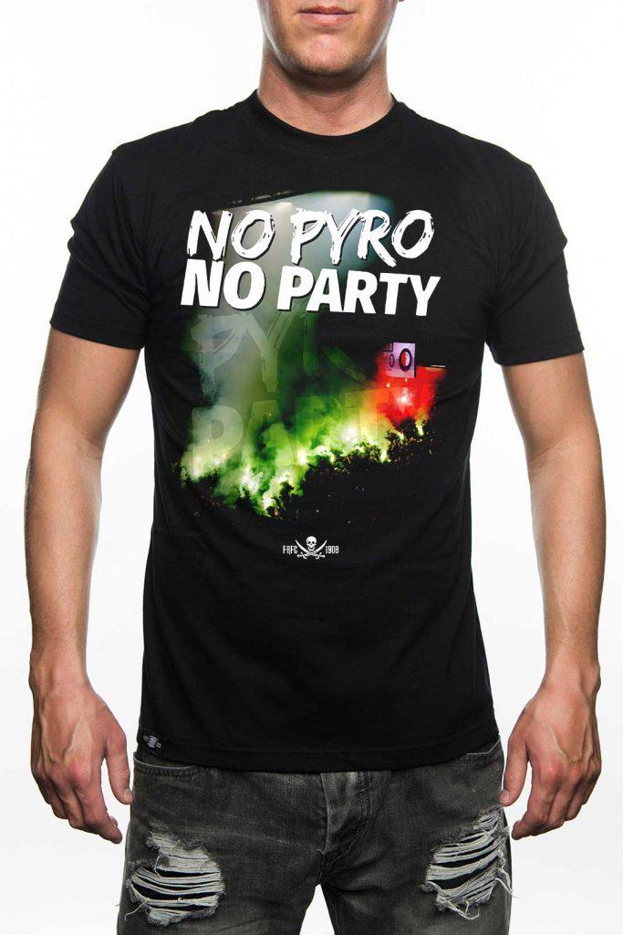 No Pyro No Party - Feyenoord Rotterdam T-Shirt