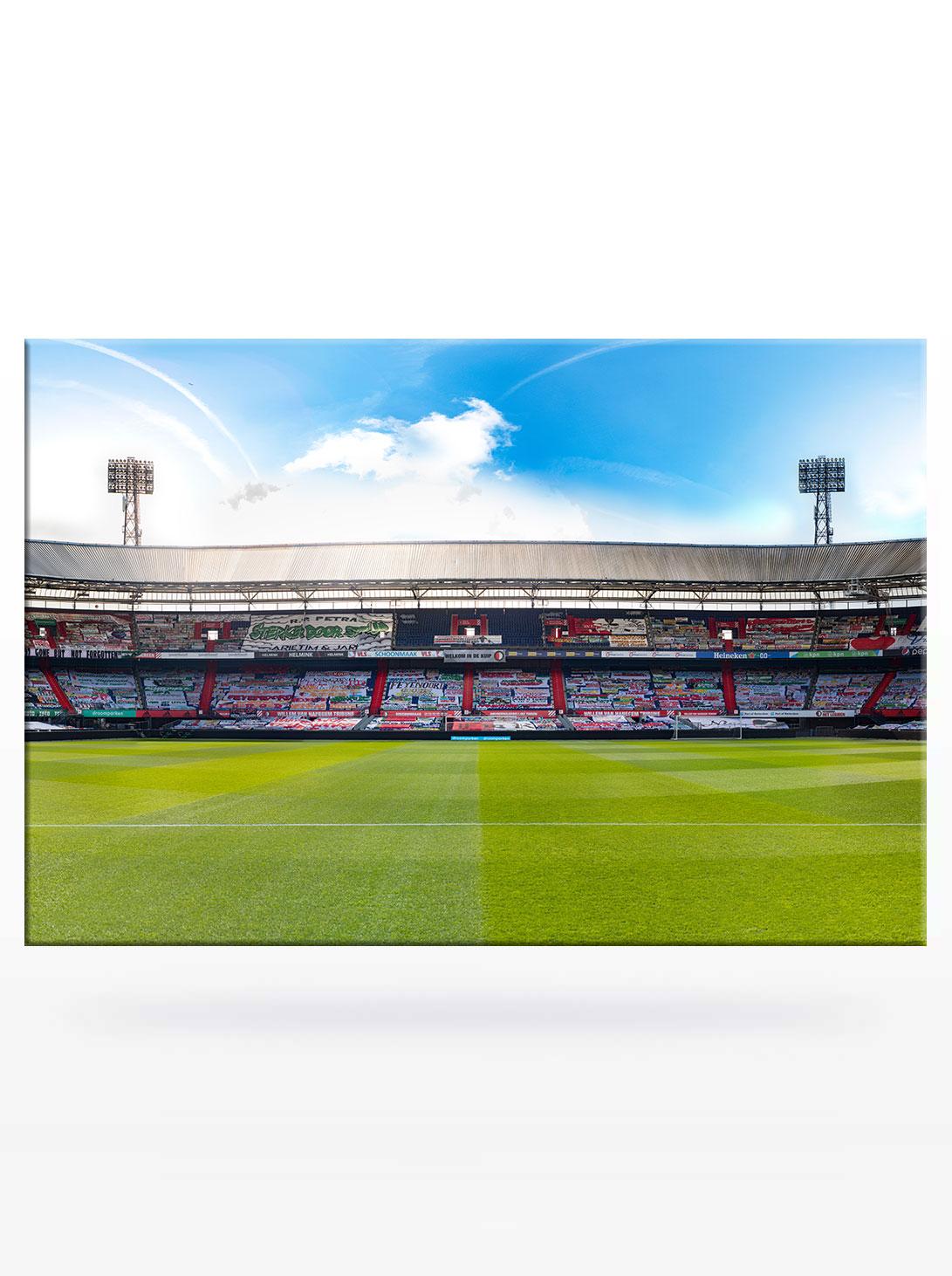 Panorama Marathontribune Spandoeken Zee in De Kuip Feyenoord Rotterdam 2021