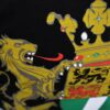Rotterdamse Stadswapen T-Shirt - Zwart - Sterker door Strijd - ANNO 1340