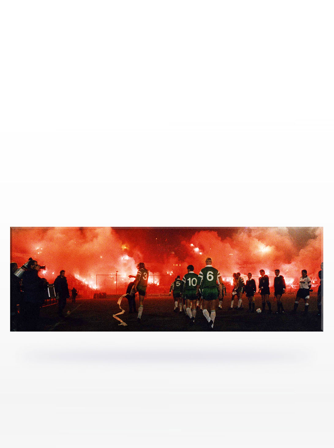 Canvas - Feyenoord Atmosphere (150 x 50)