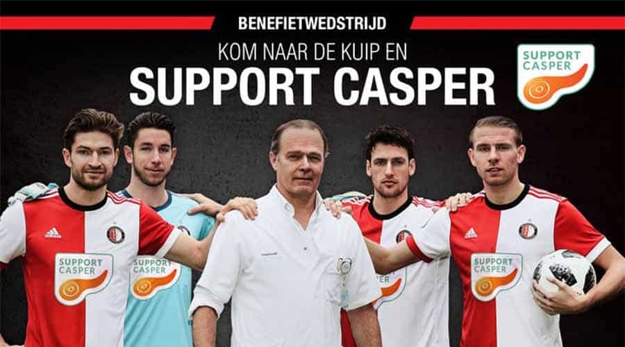 Support Casper - Benefiet Banner