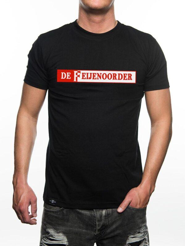 De Feijenoorder T-Shirt, Zwart