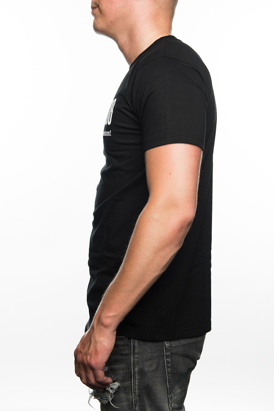T-Shirt FRFC1908 Bulldog, Zwart