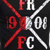 FRFC1908 Kruislogo shirt Rood/Wit