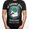 T-Shirt, De Groene Haas Rotterdam, Zwart
