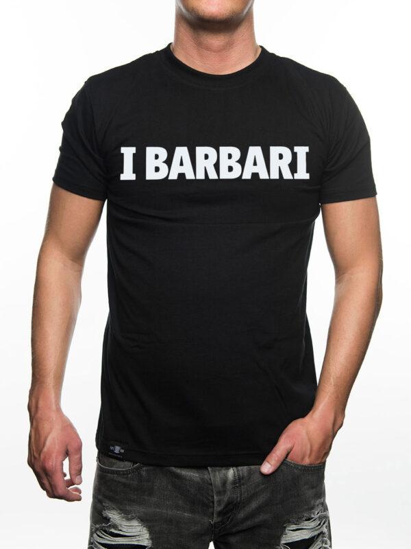 T-Shirt I Barbari, Zwart