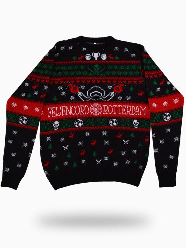 FRFC1908 - Feyenoord Kersttrui - Klassiek ontwerp - Voorkant