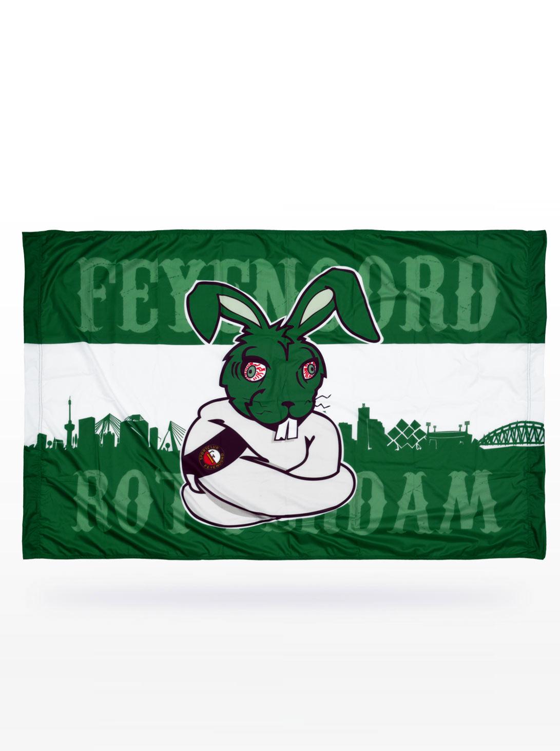 Groene Haas Vlag