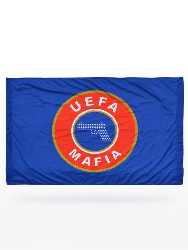 UEFA MAFIA vlag - Blauw