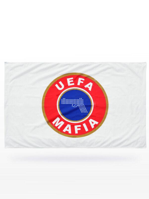 UEFA MAFIA vlag - Wit