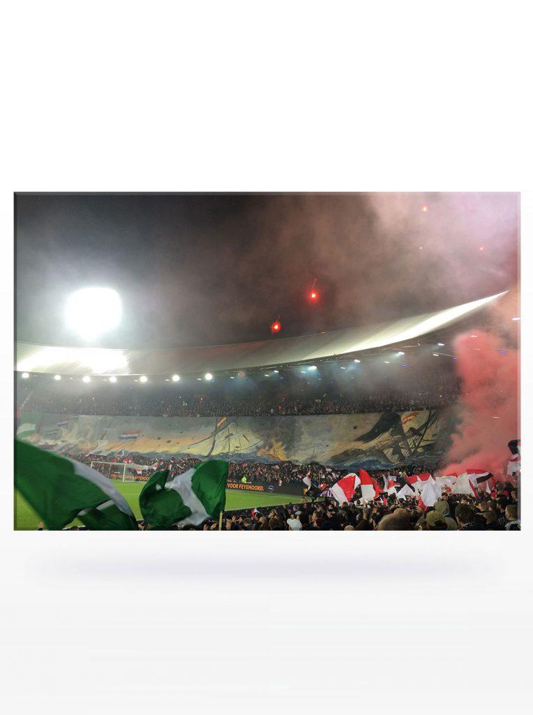 Feyenoord Canvas - Sevilla thuis, Zilvervloot Canvas (120 x 80)